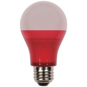 Westinghouse 5W Omni A19 Non-Dimmable LED, Red, 40W Equivalent, 220°, 25,000 Hours, E26, 120V; 5OMNIA19/LED/R