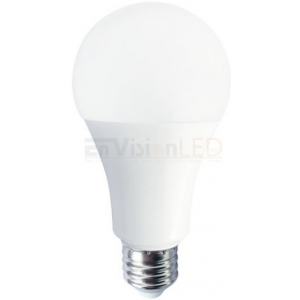 Envision 16W A21 Dimmable LED, 5000K, 1600LM, >90, 25,000 hours, 210°,E26, 120V;  LED-A21-16W-50K-HD