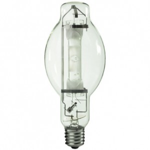 Sylvania 64469 1000W Metal Arc Metal Halide BT37 Mogul Base 3800K Warm White M1000/U/BT37