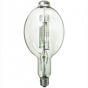 Sylvania 64431 1500W Metal Arc Metal Halide BT56 Mogul Base 4000K Cool White M1500/BU-HOR