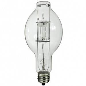 Sylvania 64705 400W Metal Arc Metal Halide BT37 Mogul Base 3600K Warm White MP400/BU-ONLY